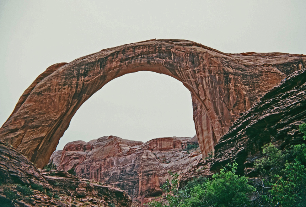 Rainbow Bridge as photographed by Dr. Hamilton