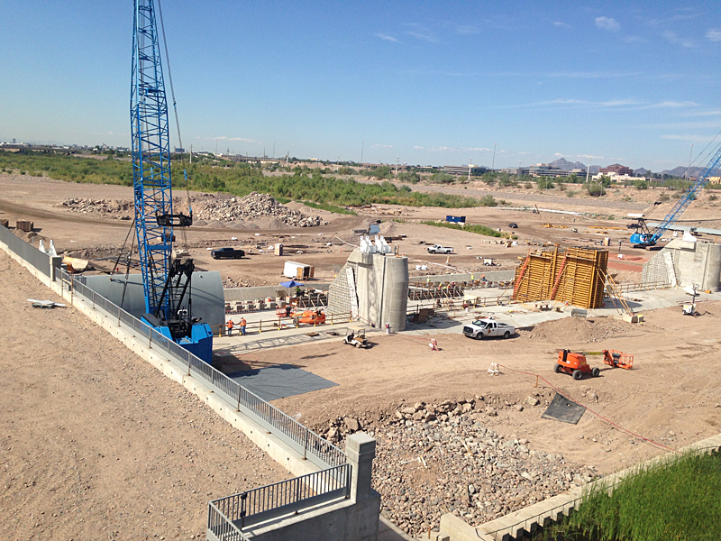 Project update tempe town lake dam replacement arizona for Tempe town lake fishing