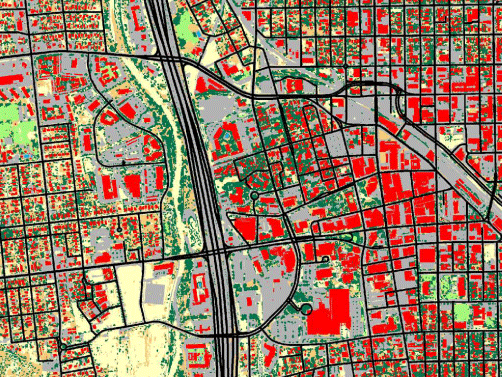 Land Use Land Cover Mapping At Less Than 1 Meter Resolution In Pima